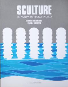 Sculture in acqua in piazza in aria, biennale 2015
